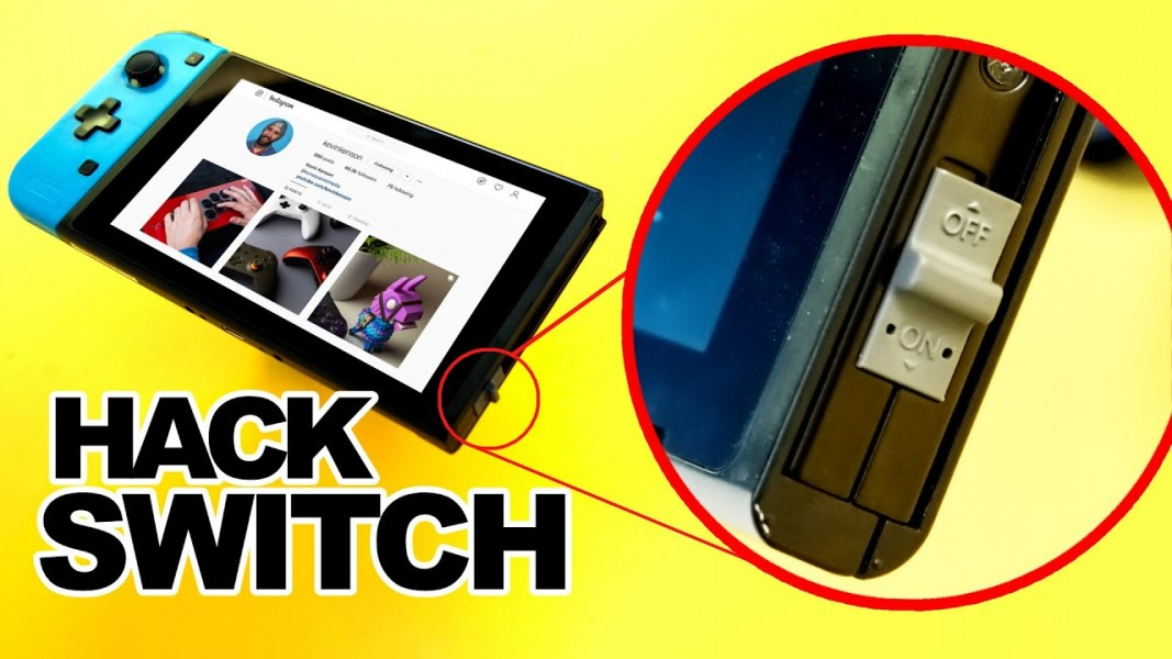 Hacker sa nintendo switch : c'est possible ?